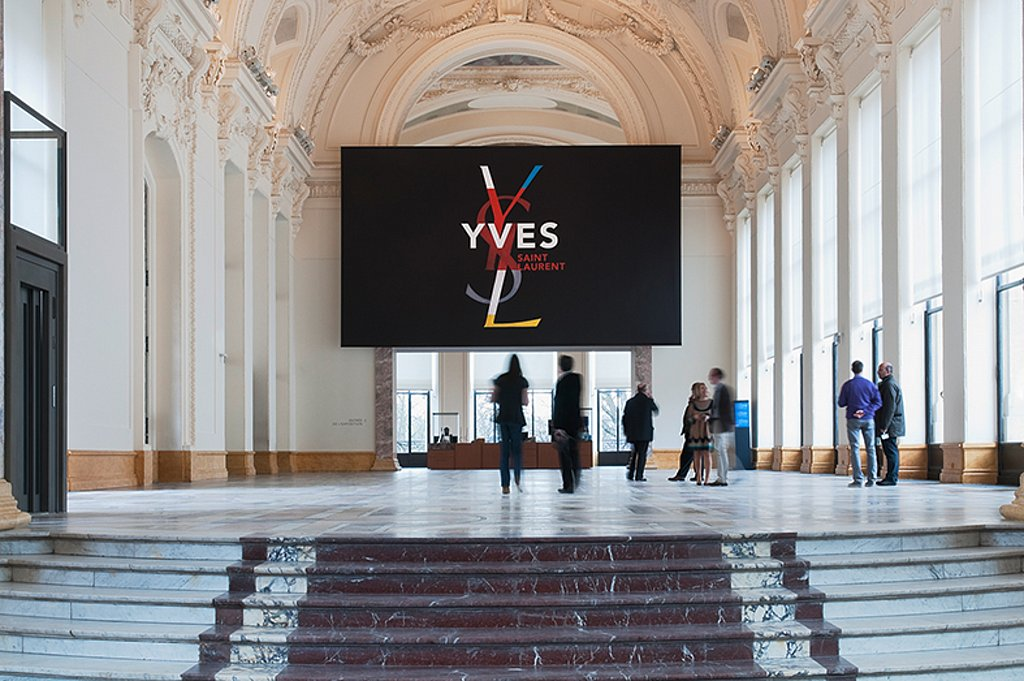 yves saint laurent retrospective – petit palais, paris