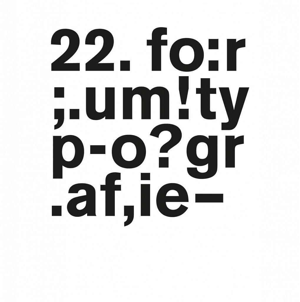 22. bundestreffen forum typografie – düsseldorf