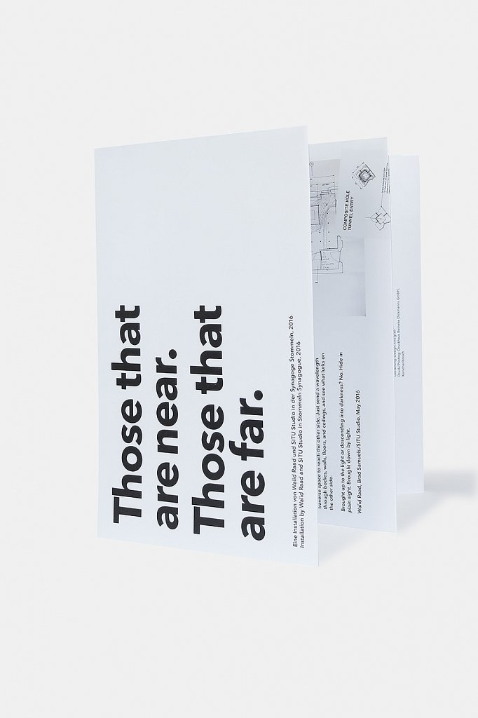 walid raad / situ studio – those that are near. those that are far