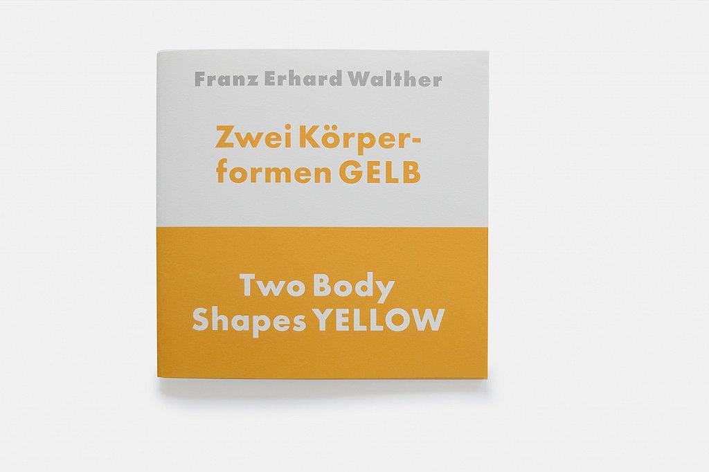 franz erhard walther – zwei körperformen gelb